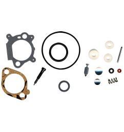 briggs stratton carburetor overhaul kit for 3 5 4 hp max series quantum and 5 hp industrial plus engines [ 1000 x 1000 Pixel ]