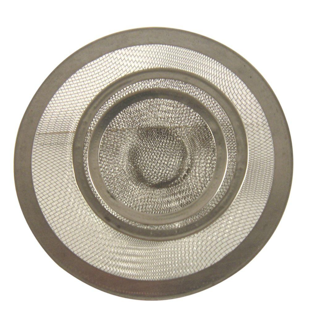 kitchen sink strainers design planner danco mesh strainer in stainless steel value pack 88886