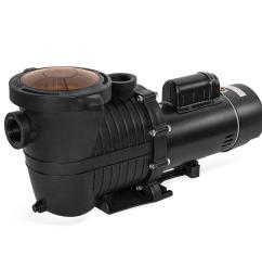 xtremepowerus high flo 2 0 hp dual speed pool pump for in above ground 230v [ 1000 x 1000 Pixel ]