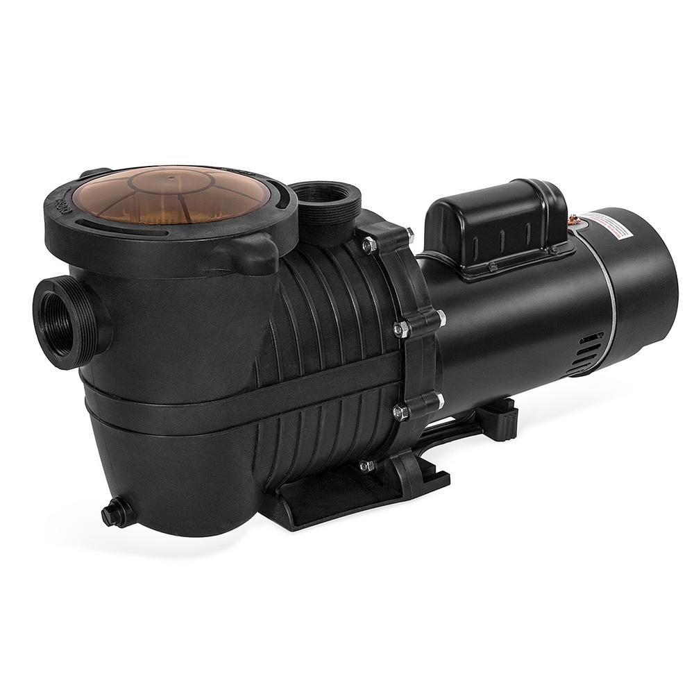 hight resolution of xtremepowerus high flo 2 0 hp dual speed pool pump for in above ground 230v