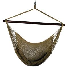 Hanging Chair Ebay Power Wheelchair Batteries Medicare Algoma 44 In Polyester Rope Tan 4913t The Home Depot