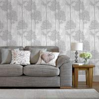 Graham & Brown Gray Eternal Wallpaper-33-287 - The Home Depot