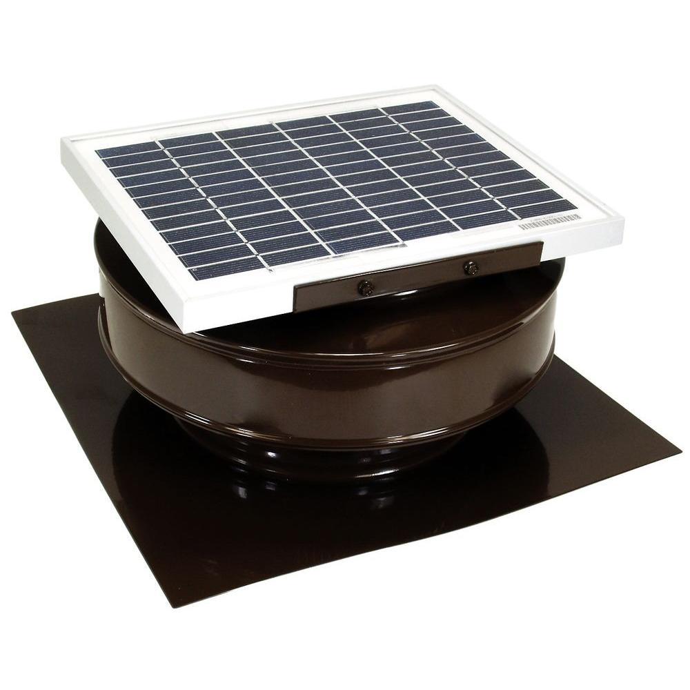 roof solar powered attic fan air