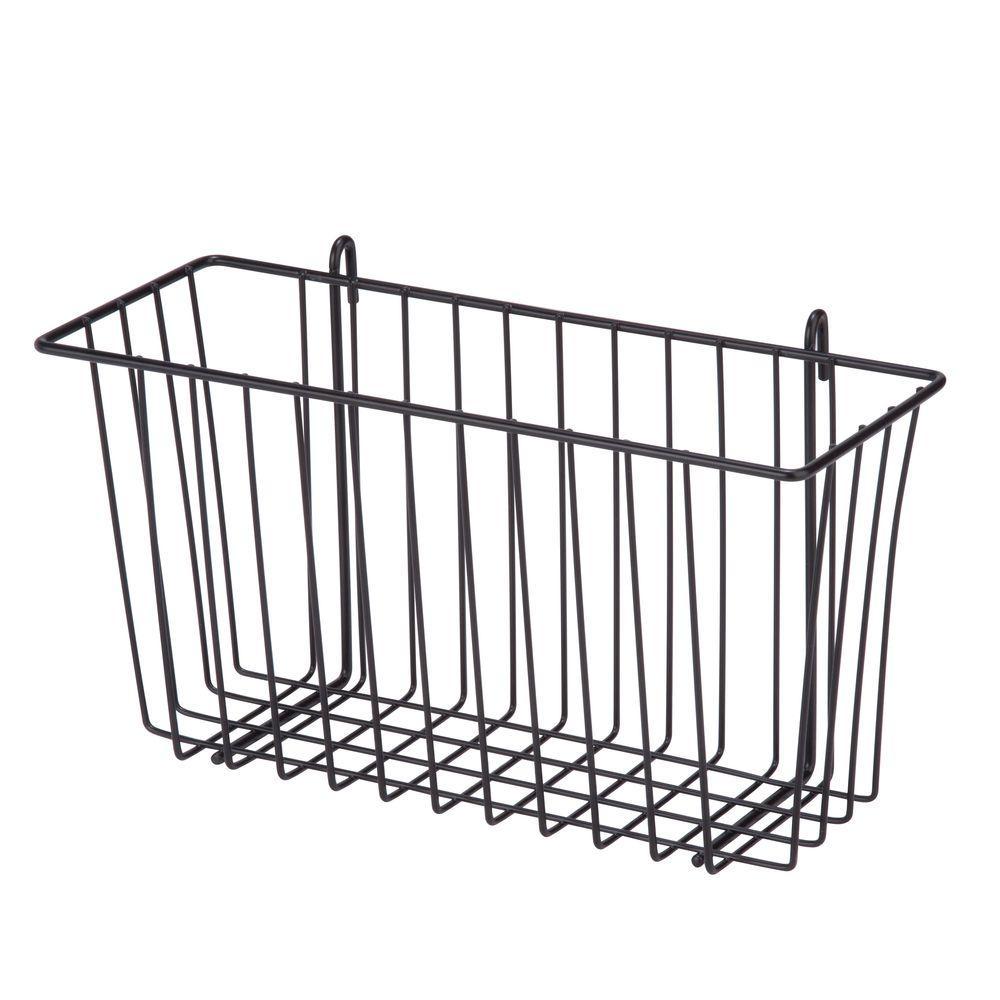 Honey-Can-Do 8.8 Qt. Shelf Accessory Storage Basket in