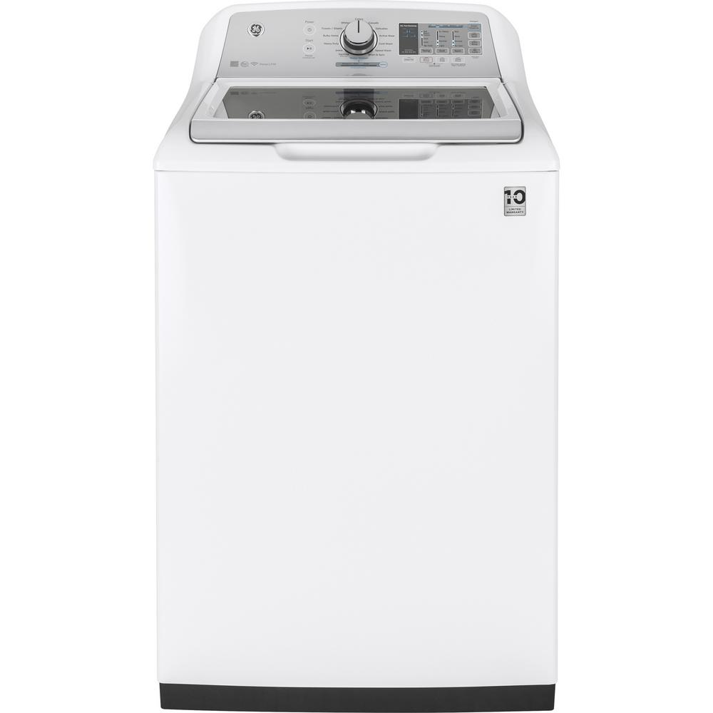 hight resolution of high efficiency white top load washing machine with smartdispense and wifi connected energy star