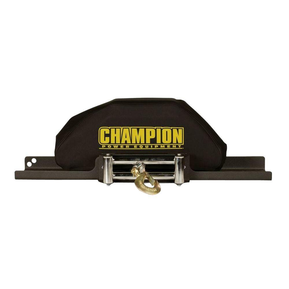 hight resolution of champion power equipment large neoprene winch cover for 8000 lb 10 000 lb champion