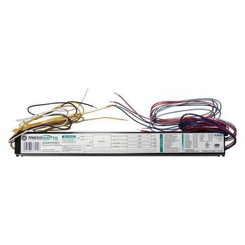 small resolution of ge 120 to 277 volt electronic ballast for 54 watt 4 to 1 lamp t5 240 volt 4 lamp t5 fluorescent ballast wiring diagram