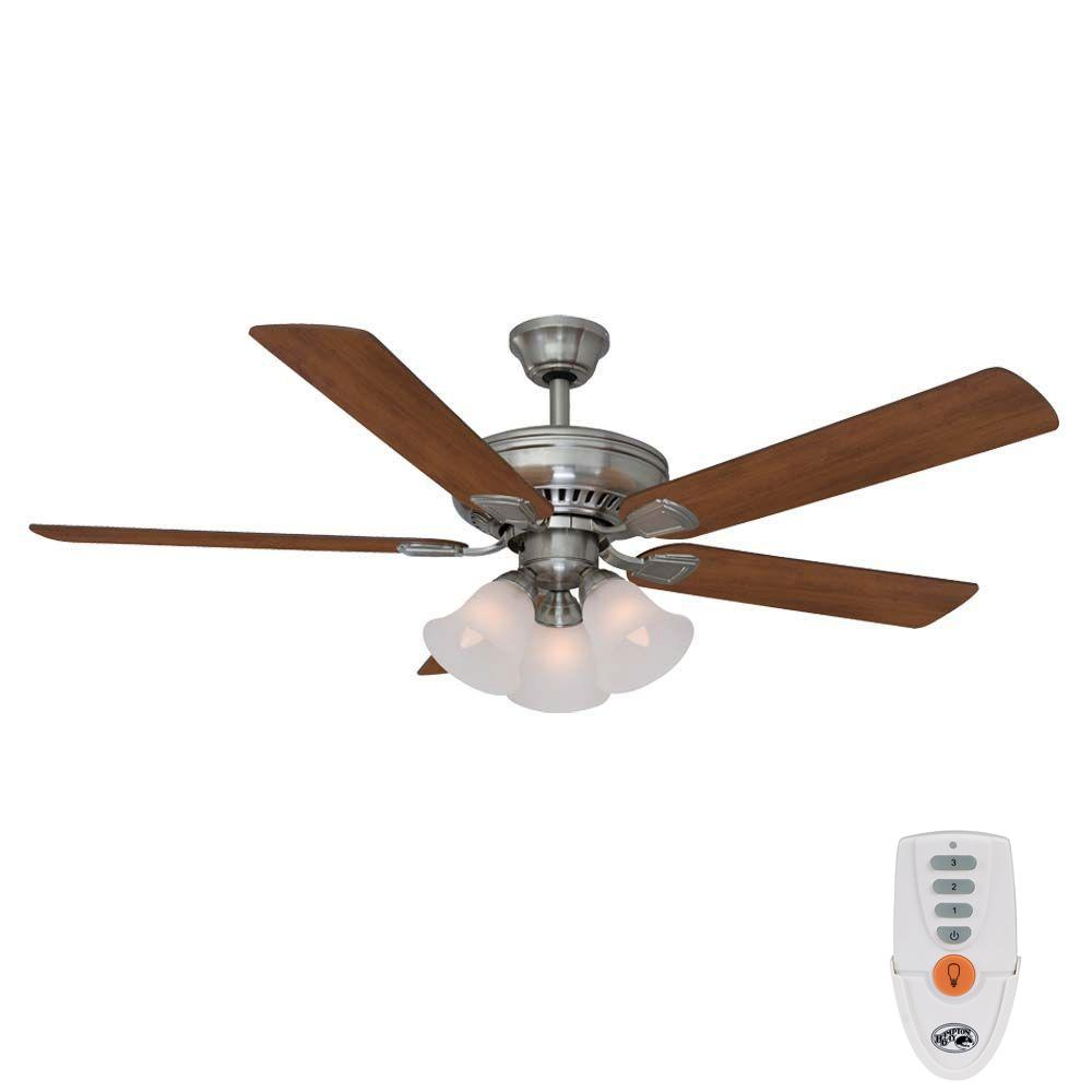 hunter fan wiring diagram remote control chandelier install ceiling toyskids co hampton bay campbell 52 in indoor brushed nickel harbor breeze