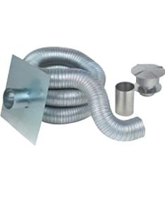 flex in  ft gas aluminum chimney liner kit also gackit rh homedepot