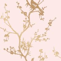 Tempaper Cynthia Rowley for Tempaper Bird Watching Rose ...