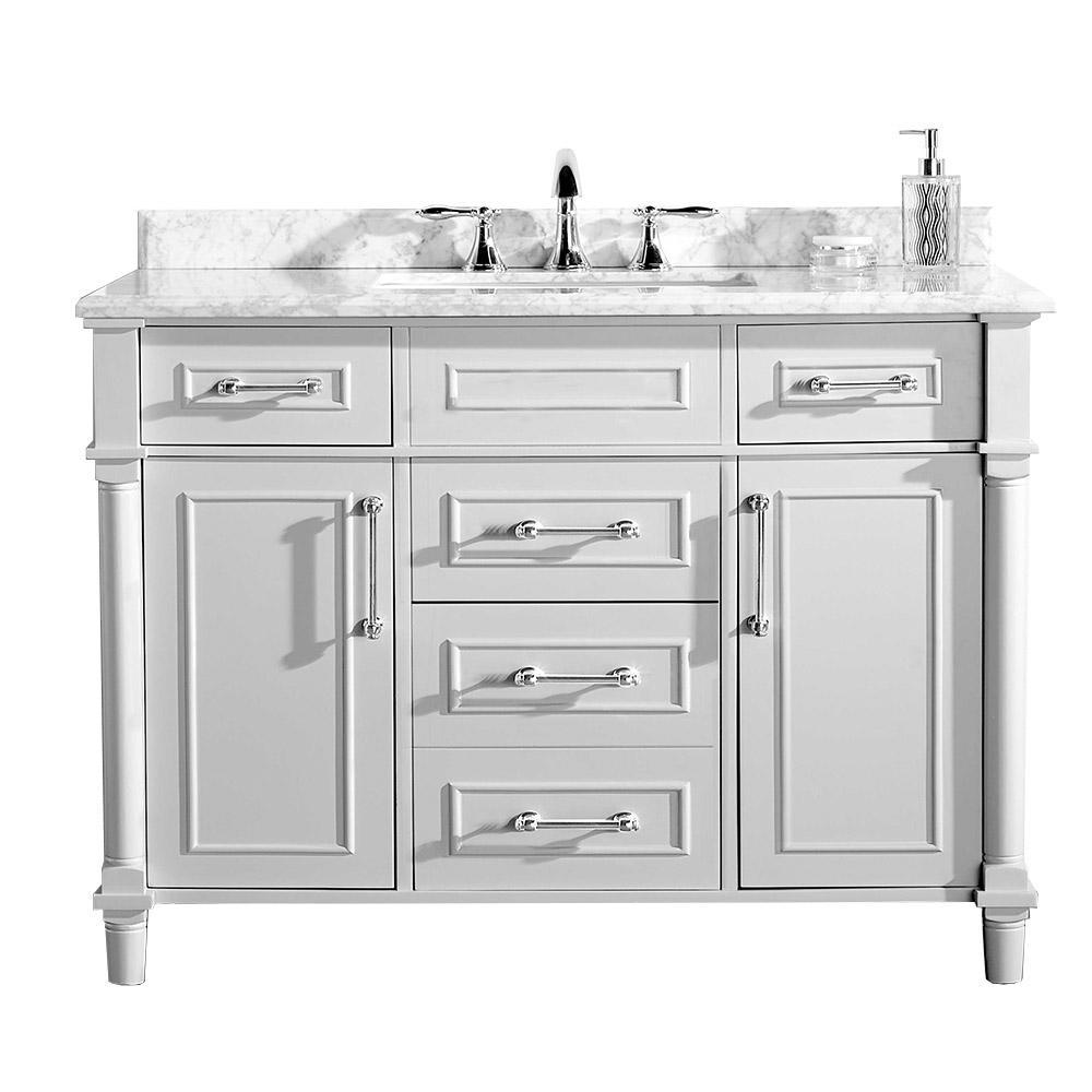 Vanities With Tops Bathroom Vanities The Home Depot