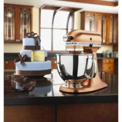Copper Kitchen Aid Salvaged Cabinets For Sale Kitchenaid Custom Metallic 5 Qt Satin Stand Mixer Ksm152pscp 4
