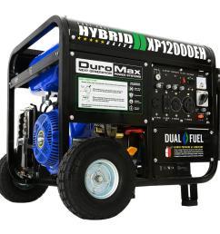 duromax 12000 9500 watt 18 hp dual fuel powered portable hybrid briggs and stratton generator wiring diagram duromax generator wiring diagram [ 1000 x 1000 Pixel ]