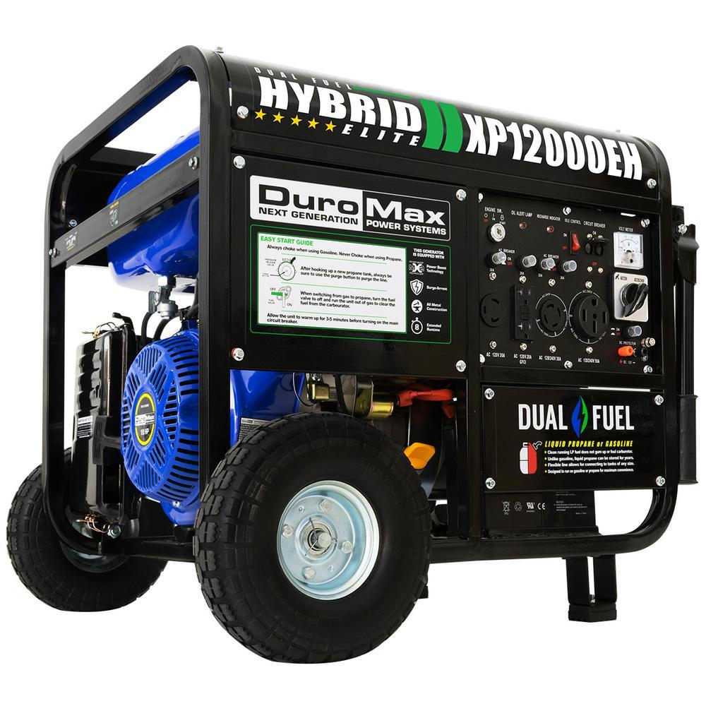 medium resolution of duromax 12000 9500 watt 18 hp dual fuel powered portable hybrid briggs and stratton generator wiring diagram duromax generator wiring diagram