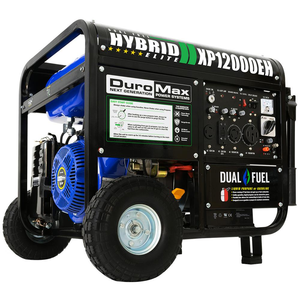 hight resolution of duromax 12000 9500 watt 18 hp dual fuel powered portable hybrid briggs and stratton generator wiring diagram duromax generator wiring diagram