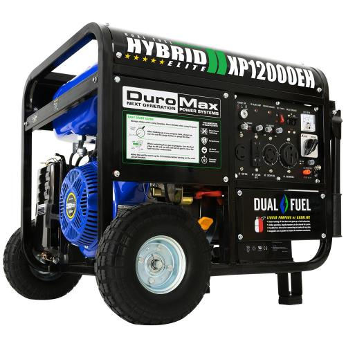 small resolution of duromax 12000 9500 watt 18 hp dual fuel powered portable hybrid briggs and stratton generator wiring diagram duromax generator wiring diagram