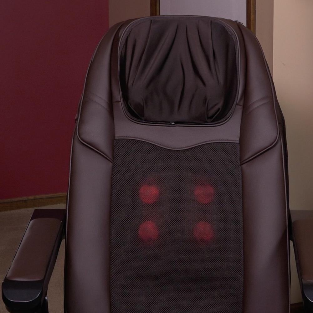 massage chair with heat best for back pain lifesmart calla casa series portable large folding and rolling includes remote