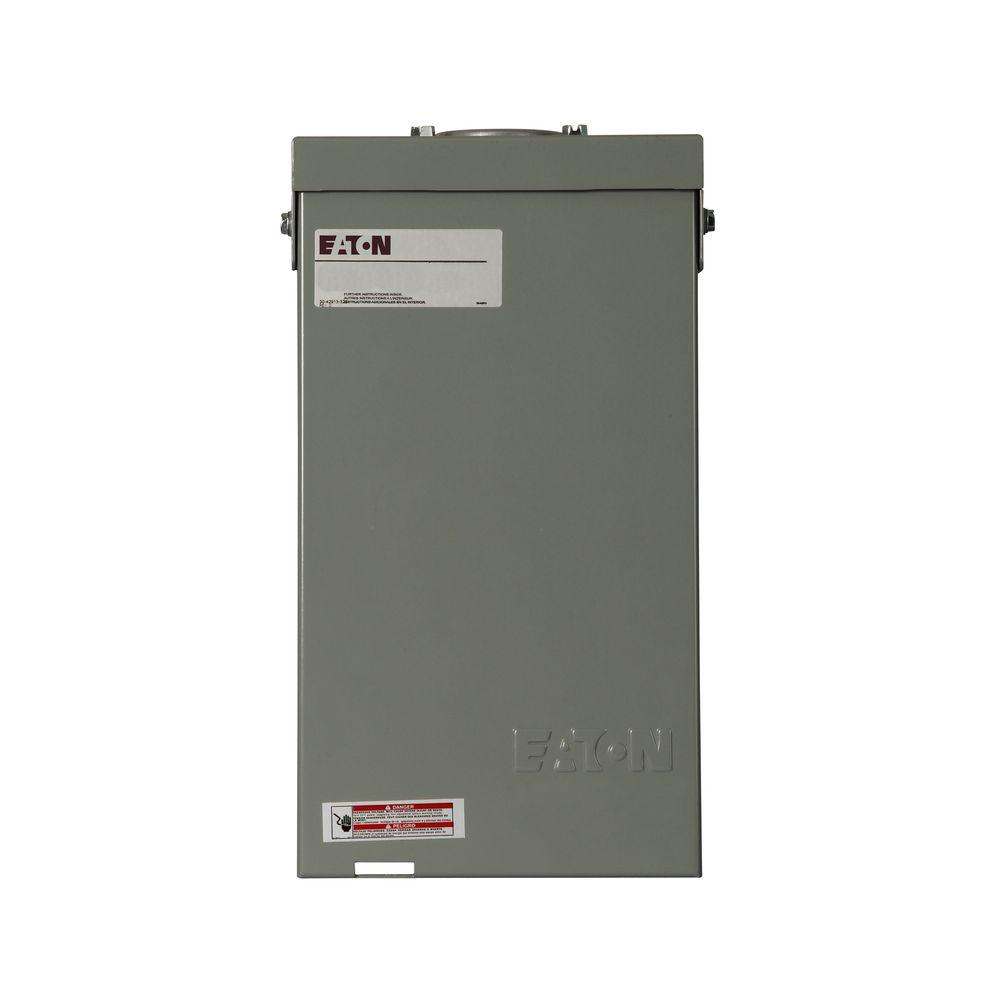 hight resolution of ch 40 amp 4 circuit outdoor spa panel with self test ground