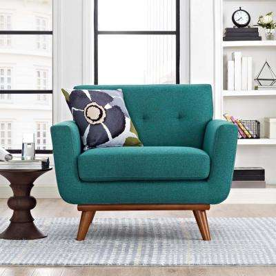 teal living room chair create your own chairs furniture the home depot engage upholstered armchair in beige gray citrus expectation