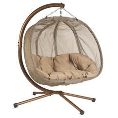 Hammock Chair Swings Rocking Base Metal Hammocks Patio Furniture The Home Depot