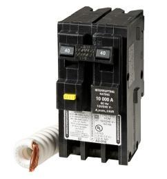 7 square d homeline 40 amp 2 pole gfci circuit breaker [ 1000 x 1000 Pixel ]