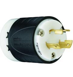 legrand pass and seymour turnlok 20 amp 125 volt plug [ 1000 x 1000 Pixel ]