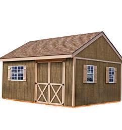 best barns new castle 16 ft x 12 ft wood storage shed kit [ 1000 x 1000 Pixel ]