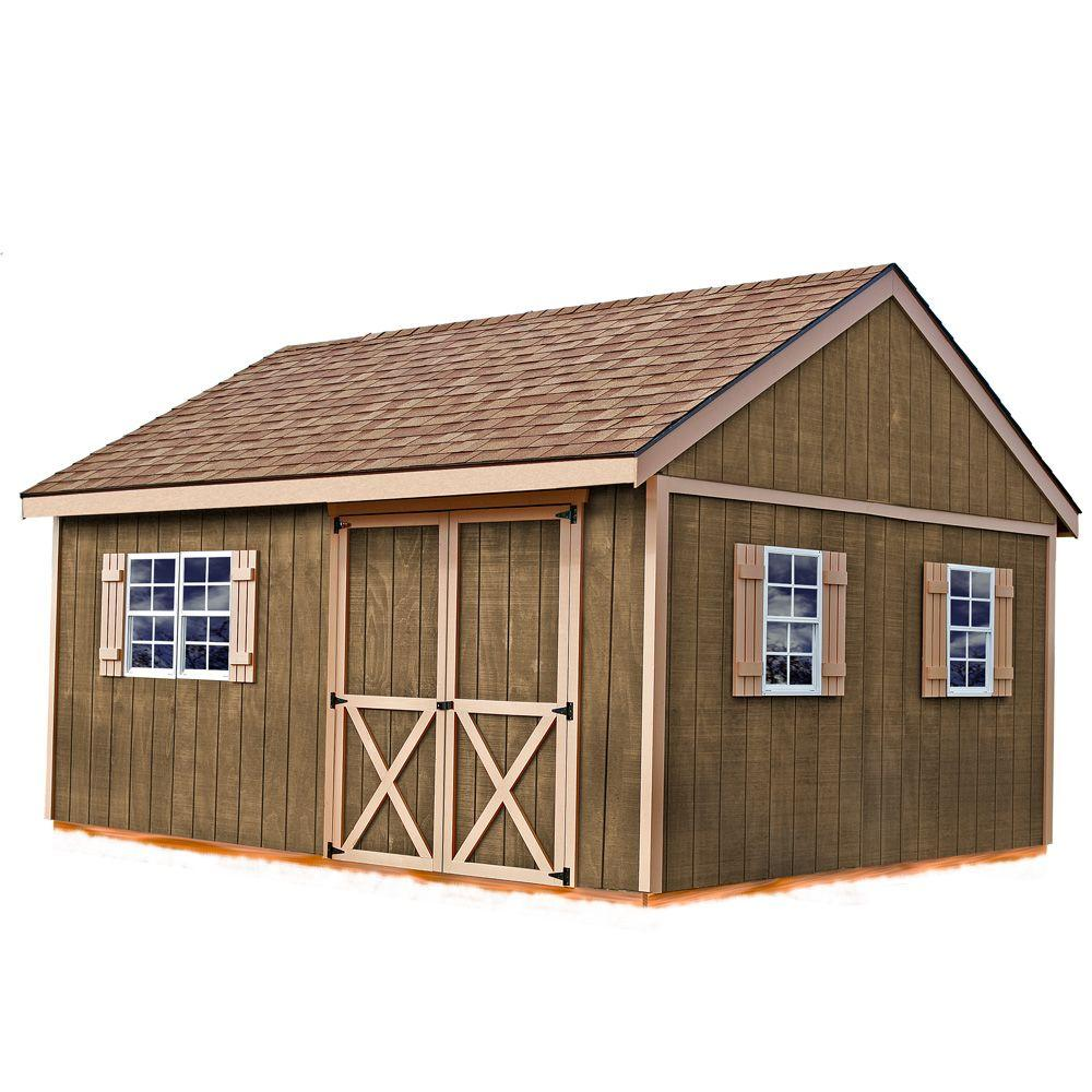 hight resolution of best barns new castle 16 ft x 12 ft wood storage shed kit