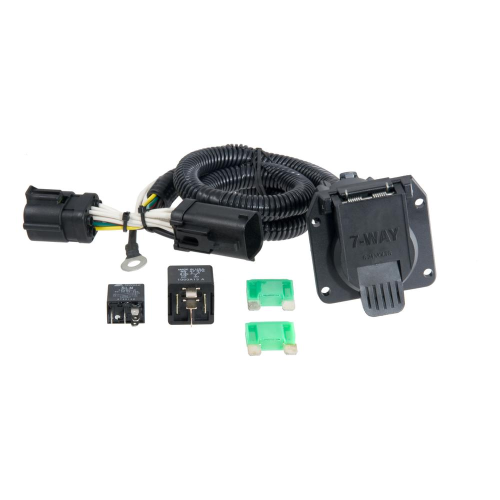 hight resolution of curt custom wiring harness 7 way rv blade output