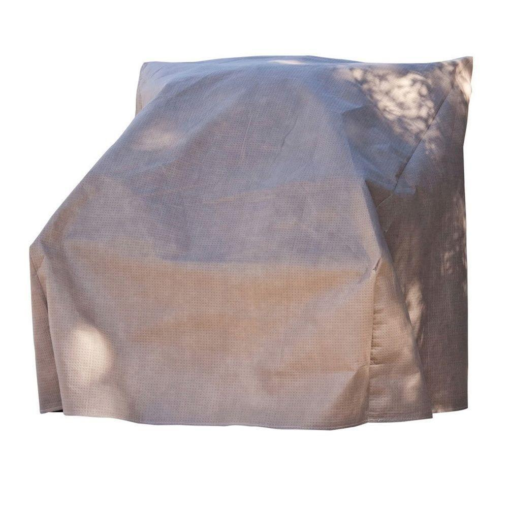 home depot outdoor patio chair covers heavy duty camp duck elite 29 in w cover with inflatable airbag to prevent pooling