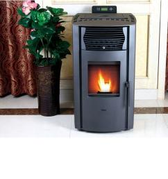 epa certified pellet stove with auto ignition and 47 lb  [ 1000 x 1000 Pixel ]