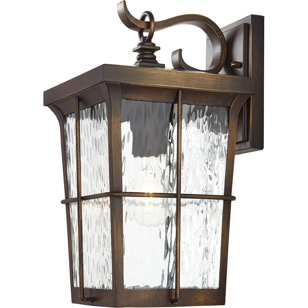 Outdoor Patio Porch Wall Mount Lantern Light Fixture