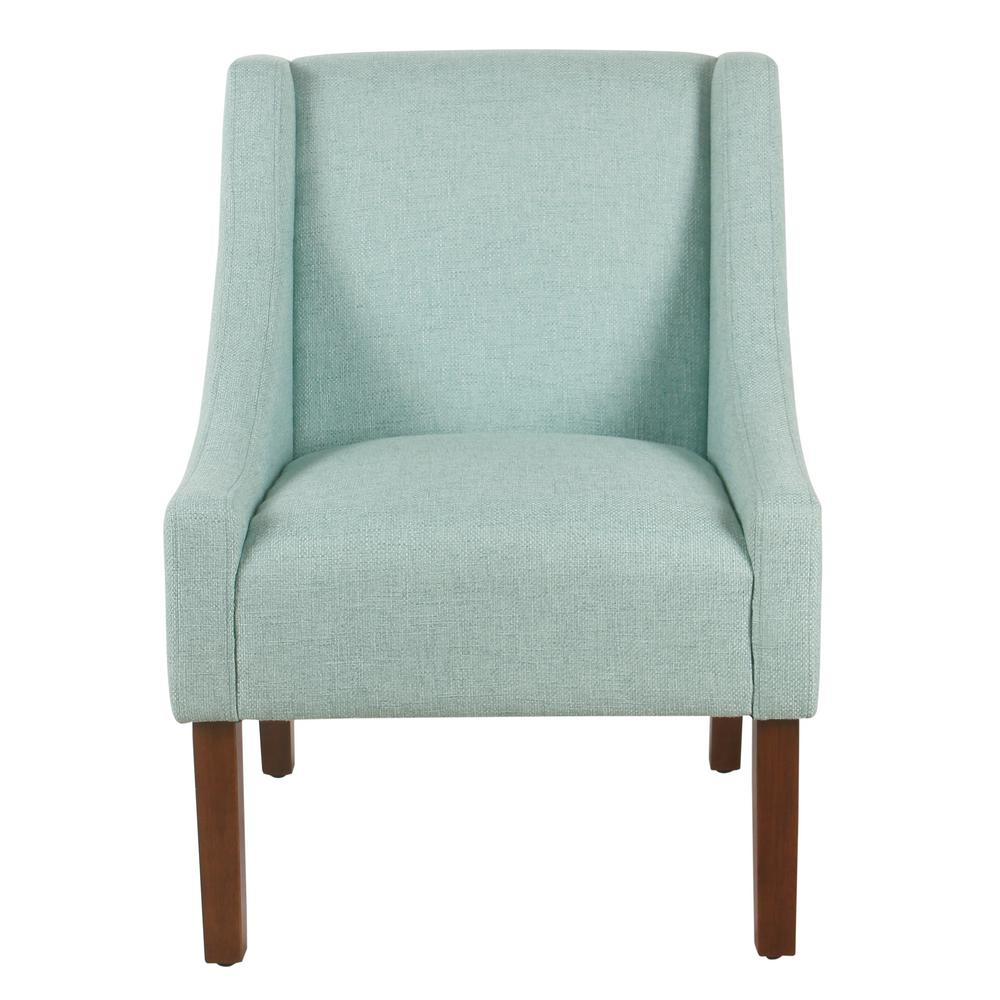 aqua accent chair chairs for showers invalids homepop light woven modern swoop arm k6908 f2044