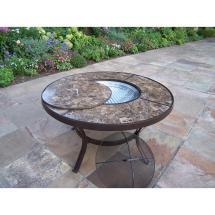 Stone Art Aluminum Outdoor Dining Table-hd70005-cf