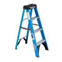 Werner 4 ft. Fiberglass Step Ladder with 250 lb. Load ...