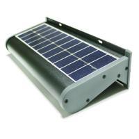 eLEDing Solar Powered 5-Watt Gray Outdoor Integrated LED ...