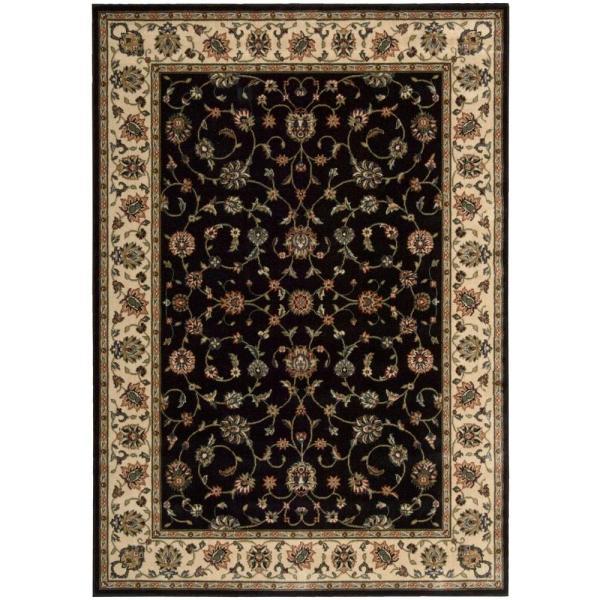 Nourison Persian Arts Marlik Black 5 Ft. X 7 Area Rug