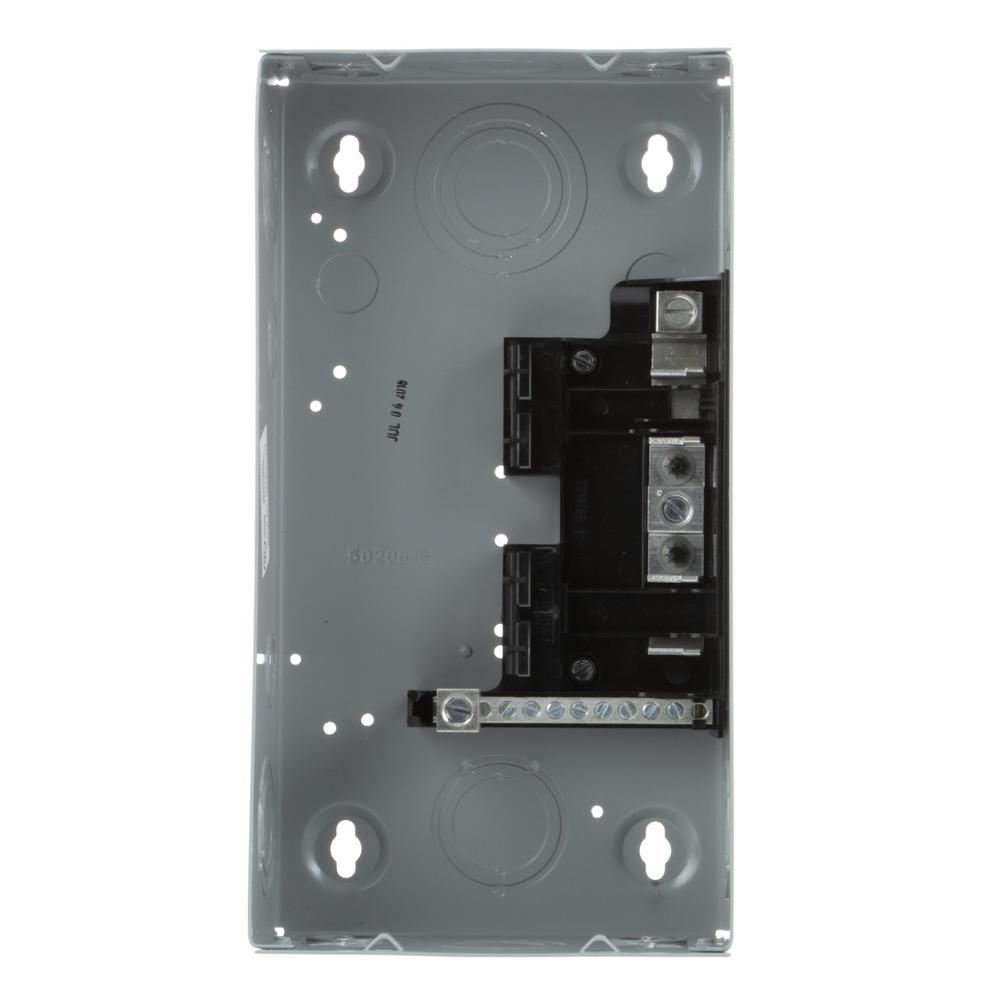 hight resolution of square d qo 30 amp 2 space 2 circuit indoor main lug load center qo2l30scp the home depot