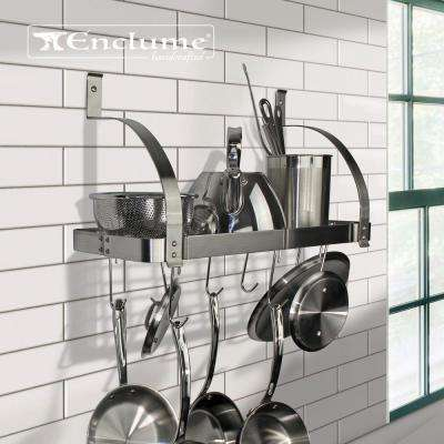 kitchen pot rack how to design a remodel racks storage organization the home depot new