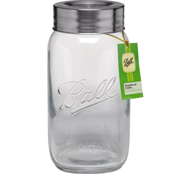 Ball 64 Oz. Super Wide Mouth Composite 1 Gal. Jar-1440096268 - Home Depot