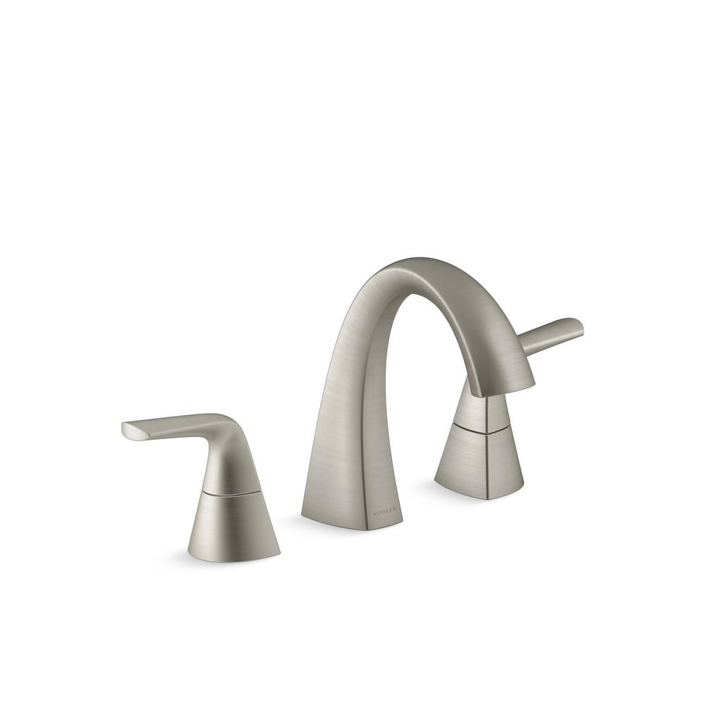 Kohler Bathroom Brushed Nickel Faucet Bathroom Brushed
