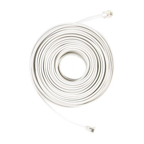 small resolution of commercial electric 50 ft telephone line cord white
