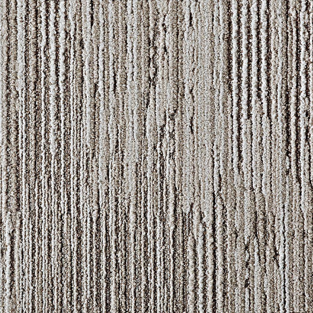 FLOR Fully Barked Oyster 197 in x 197 in Carpet Tile 6 TilesCase68400005  The Home Depot