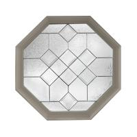 Hy-Lite 23.25 in. x 23.25 in. Decorative Glass Fixed ...