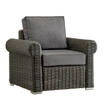 Outdoor Wicker Chairs with Arms