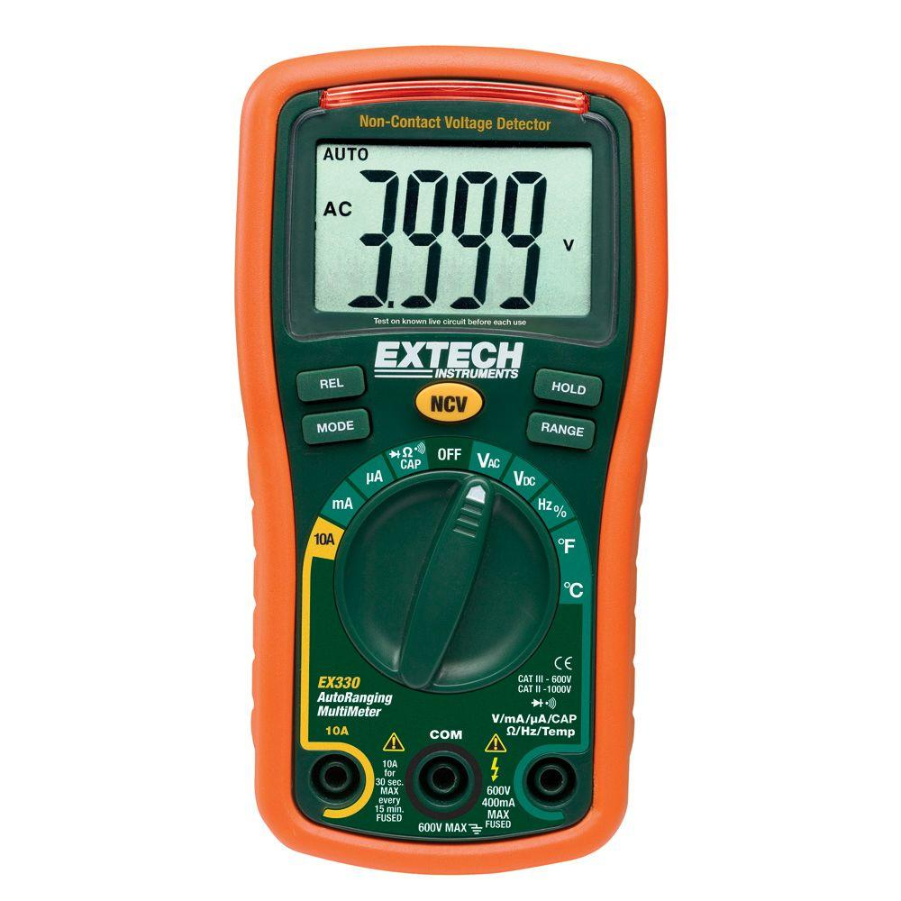medium resolution of extech instruments manual multimeter with ncv 4000 ct auto ranging temp