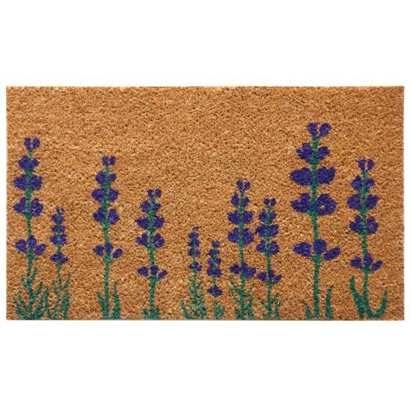 Rubber-cal Purple English Lavender 18 In. X 30 Flower