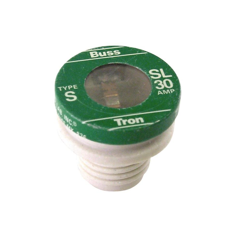 hight resolution of cooper bussmann 30 amp sl style plug fuse 4 pack