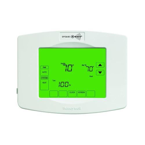 small resolution of 7 day touchscreeen programmable thermostat with z wave module