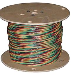 12 3 solid cu w g submersible well pump wire 55173604 the home depot [ 1000 x 1000 Pixel ]